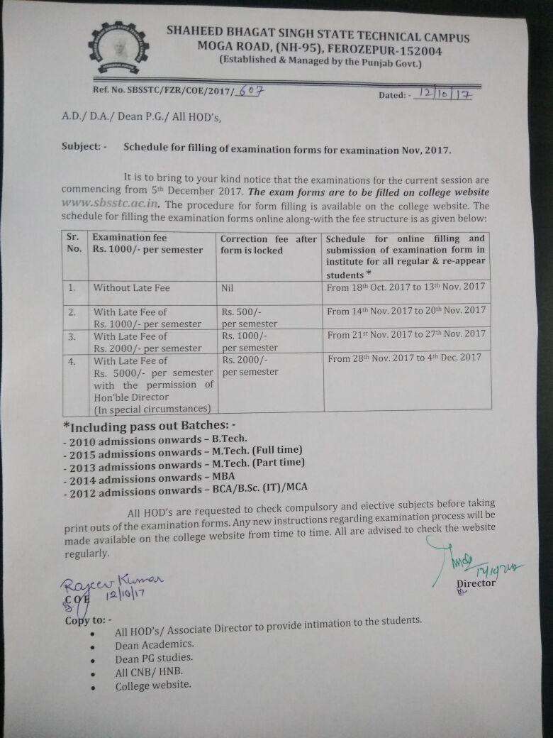 leet date sheet